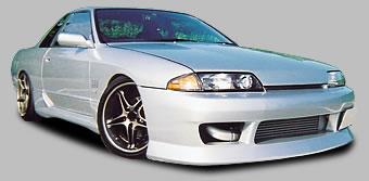R32 スカイラインクーペ   フロントバンパー【ユーラス】R32 Type1 フロントバンパースポイラー