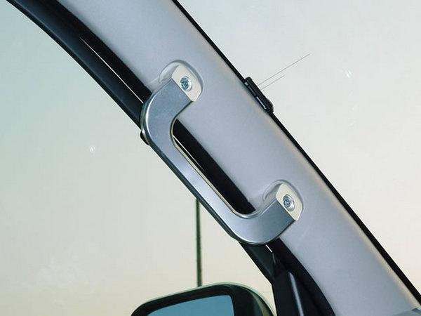200 ハイエース 標準ボディ | 内装パーツ / その他【ワールド】ハイエース 200系 1-4型 標準ボディ ビレットインテリアグラブハンドル アルマイト仕上げ
