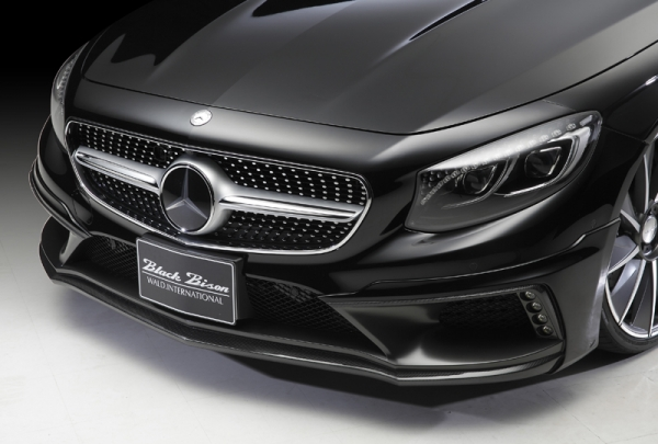 BENZ Sclass COUPE R217 | フロントハーフ【ヴァルド】BENZ S-CLASS COUPE C217 フロントハーフスポイラー FRP【D】