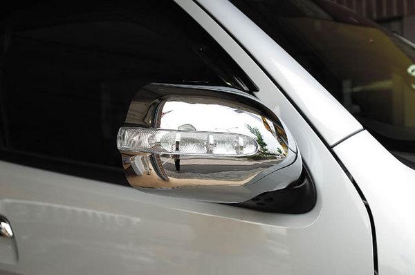 200 ハイエース ワイド | ウインカーミラーカバー / ウインカー付ミラー【ワールド】ハイエース 200系 1-4型 ワイドボディ LEDミラーカバー 未塗装品