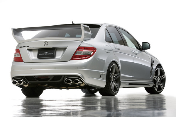 BENZ C W204 | ステンマフラー【ヴァルド】【C】BENZ C W204 (07~11y) Sports Line D.T.M スポーツマフラー(OVAL117W×2) V6用・要溶接
