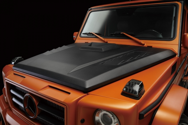 BENZ G W463 | ボンネットフード【ヴァルド】【E】BENZ G W463 Sports Line BlackBison Edition BONNET カーボン製