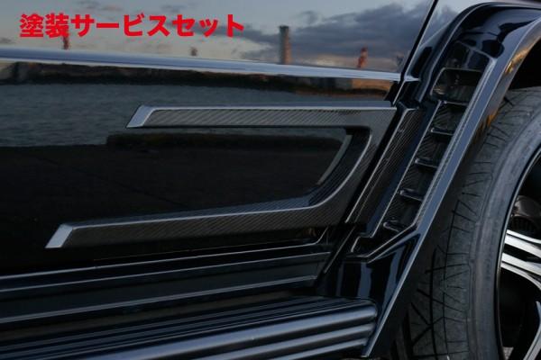 ★色番号塗装発送BENZ G W463 | ドアパネル 2dr【ヴァルド】【C】BENZ G W463 Sports Line BlackBison Edition REAR ドアパネル 一部カーボン仕上