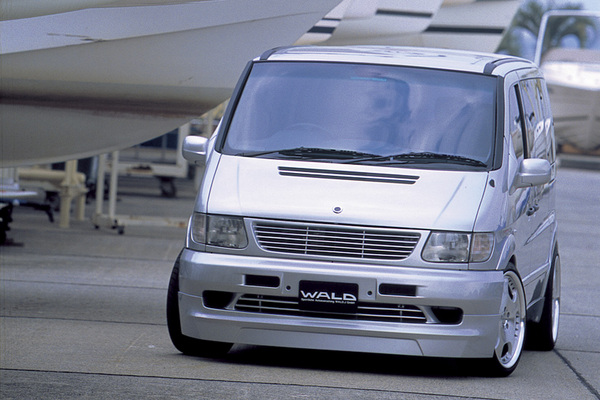 BENZ V W638 | フロントグリル【ヴァルド】【A】BENZ V W638 EXECUTIVE LINE (EXCHANGE) 2nd EDITION MARKLESS GRILL