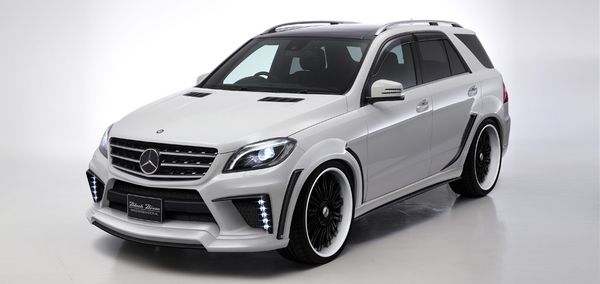 BENZ M W166 | オーバーフェンダー / トリム【ヴァルド】【C】SPORTS LINE BLACK BISON EDITION MERCEDES BENZ M-CLASS W166 (2012y~ )(BLACK BISONエアロ専用)オーバーフェンダー