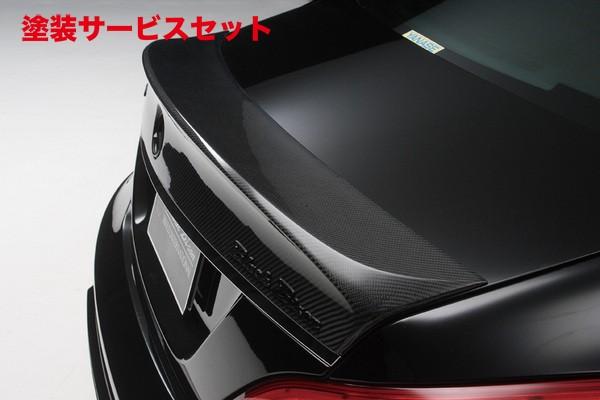 ★色番号塗装発送BENZ CLS W218(C218) | トランクスポイラー / リアリップスポイラー【ヴァルド】【C】BENZ CLS C218 Sports Line Black Bison Edition 2011y~ トランクスポイラー FRP製