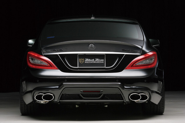 BENZ CLS W218(C218) | リアバンパー【ヴァルド】【C】BENZ CLS C218 Sports Line Black Bison Edition 2011y~ リアバンパー FRP製
