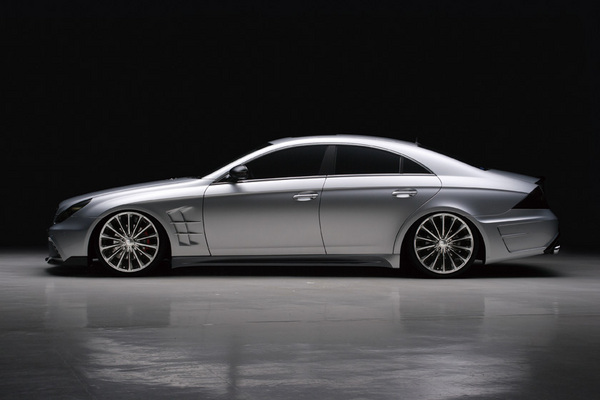 BENZ CLS W219(C219) | サイドステップ【ヴァルド】【C】BENZ CLS W219 (~07y) Sports Line Black Bison Edition サイドステップ