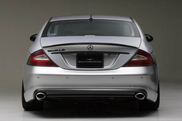 BENZ CLS W219(C219) | リアバンパーカバー / リアハーフ【ヴァルド】【A】BENZ CLS W219 SPORTS LINE リアスカート~2007y