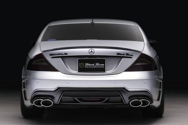 BENZ CLS W219(C219) | リアバンパー【ヴァルド】【C】BENZ CLS W219 (~07y) Sports Line Black Bison Edition リアバンパー