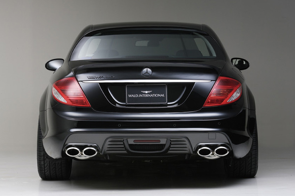 BENZ CL W216(C216) | リアバンパー【ヴァルド】【A】BENZ CL W216 SPORTS LINE Black Bison Edition リアバンパー (~2010y)