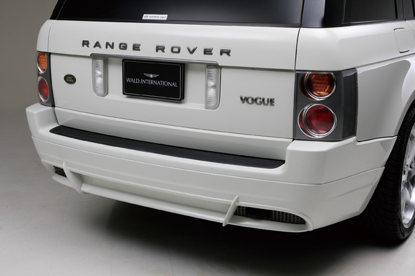 LAND ROVER RangeRover 3rd | リアバンパーカバー / リアハーフ【ヴァルド】【X】RANGE ROVER 3rd SPORTS LINE リアスカート(ネット付)~2006y