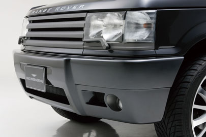ROVER RangeRover 2nd | フロントバンパー【ヴァルド】【X】RANGE ROVER 2rd SPORTS LINE フロントバンパー(ネット フォグ別売)~2002y