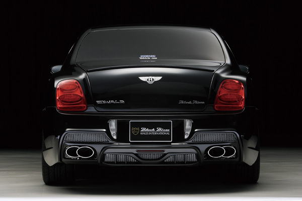 BENTLEY Continental FS | ステンマフラー【ヴァルド】【C】BENTLEY CONTINENTAL FLYING SPUR Sports Line Black Bison Edition~08/09~ D.T.M スポーツマフラー (TWIN240×2)
