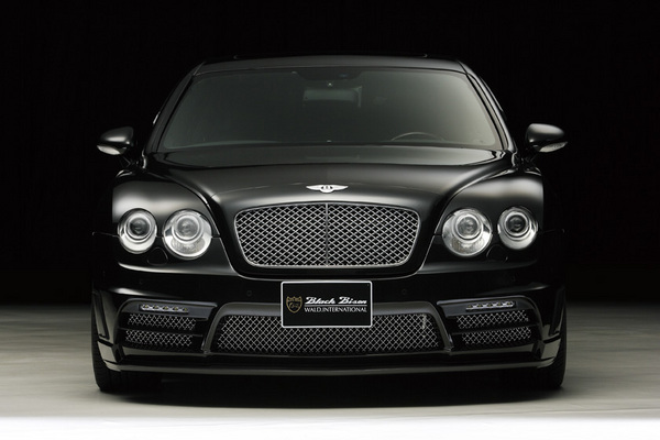 BENTLEY Continental FS | フロントバンパー【ヴァルド】【C】BENTLEY CONTINENTAL FLYING SPUR Sports Line Black Bison Edition~08/09~ フロントバンパー