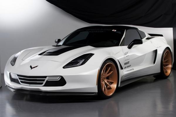 Chevrolet Corvette C7 | フロントハーフ【ウィンコーポレーション】Corvette C7 フロントスポイラー CFRP