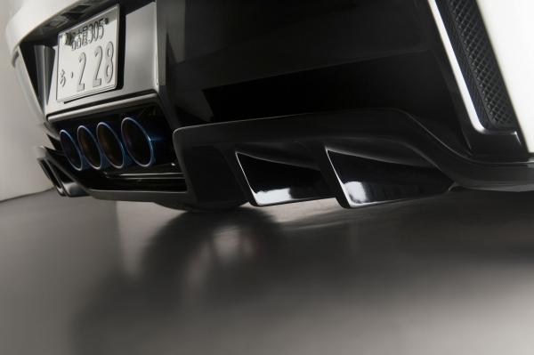 Chevrolet Corvette C7 | リアアンダー / ディフューザー【ウィンコーポレーション】Corvette C7 リアディフューザー FRP