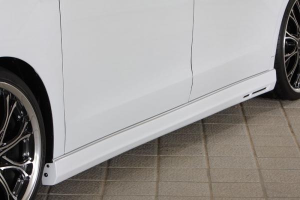 サイドステップ【エクスクルージブ ゼウス】ステップワゴン 【 GRACE LINE 】 サイドステップ 未塗装品 | STEP WGN (RK1.2) G.Li 後期 2012/4 - 2015/3
