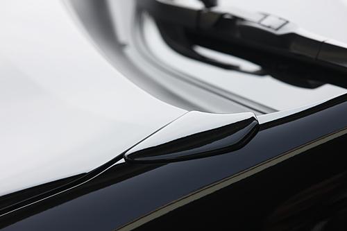 フェンダーガーニッシュ【エクスクルージブ ゼウス】ヴェルファイア 【 GRACE LINE 】 ミラーカバー ホワイトパールクリスタルシャイン | ヴェルファイア (GGH/ANH/ATH) Z grade/HYBRID ZR 後期 2011/11 - 2014/12