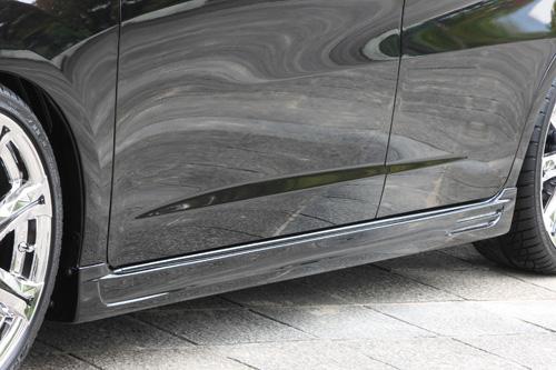 サイドステップ【エクスクルージブ ゼウス】フィット 【 SMART LINE 】 サイドステップ NH731P塗装済 | Fit (GE6.7.8.9/GP1) 後期 2010/10 - 2013/8
