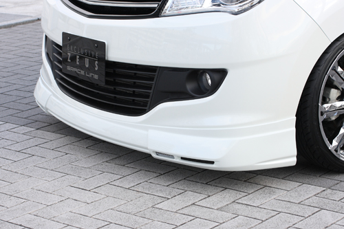 フロントハーフ【エクスクルージブ ゼウス】ソリオ 【 GRACE LINE 】 フロントハーフスポイラー(LED付属) ZJ3塗装済   SOLIO(MA15S) 前期 2011/1 - 2013/10