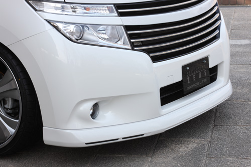 フロントハーフ【エクスクルージブ ゼウス】GRACE LINE フロントスポイラー QAB塗装済 エルグランド E52 2010/8 -