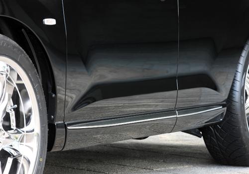 サイドステップ【エクスクルージブ ゼウス】ムラーノ 【 LUV LINE 】 サイドステップ QX1 塗装済 | MURANO(Z51) 後期 2011/3 -