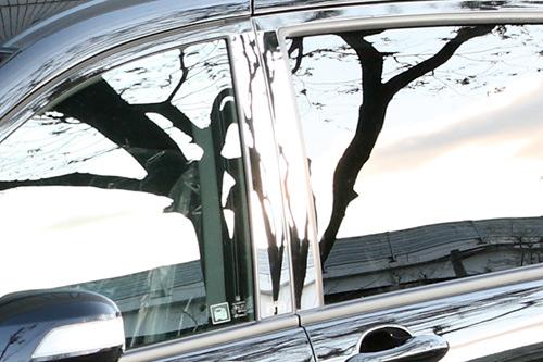 ピラー【エクスクルージブ ゼウス】フリード 【 GRACE LINE 】 ステンレスピラー 6ピース ステンレス製 | FREED(GB3.4/GP3) G Aero / HYBRID 中期 2011/10 - 2014/3