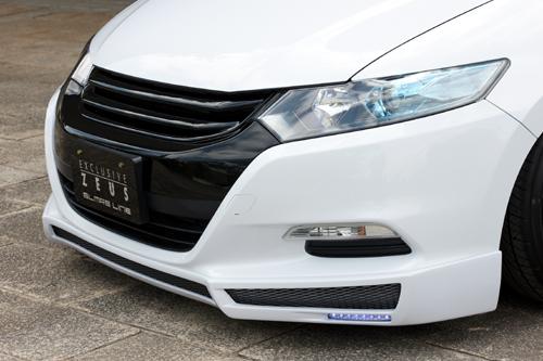 フロントハーフ【エクスクルージブ ゼウス】インサイト 【 GLMRS LINE 】 フロントスポイラー NH756P塗装済 | INSIGHT(ZE2) 前期 2009/2 - 2014/3