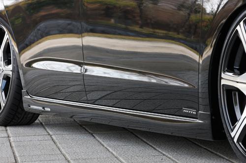 サイドステップ【エクスクルージブ ゼウス】オデッセイ 【 GRACE LINE 】 サイドステップ NH731P塗装済 | ODYSSEY (RB3/4) 2008/11 - 2013/10