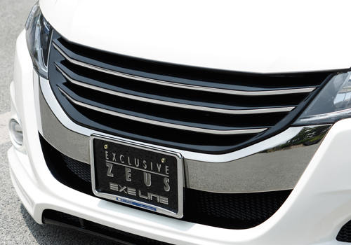 フロントグリル【エクスクルージブ ゼウス】オデッセイ 【 EXE LINE 】 フロントグリル NH624P塗装済   ODYSSEY (RB3/4) 2008/11 - 2013/10