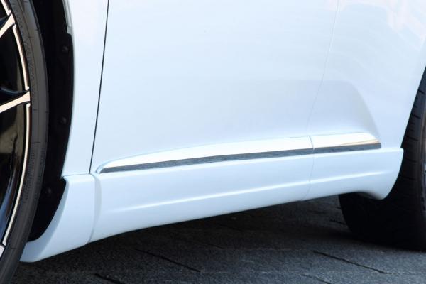 サイドステップ【エクスクルージブ ゼウス】レクサス 【 LUV LINE 】 サイドステップ 未塗装 | LEXUS RX RX450h(GYL1#W)/RX350 (GGL1#W) RX270 (AGL10W) (F SPORT、エアロバンパー付車) MC後 2012/4 - 2015/9