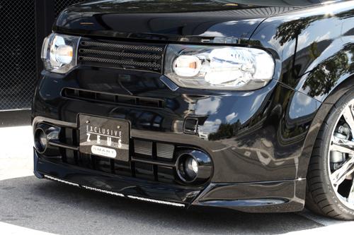フロントハーフ【エクスクルージブ ゼウス】キューブ 【 SMART LINE 】 フロントハーフスポイラー QX1 塗装済 | CUBE(Z12) 2008/11 -
