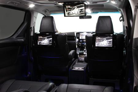 オーディオ・AV系 その他 | EXCLUSIVE ZEUS オーディオ・AV系 その他【エクスクルージブ ゼウス】アルファード 【 GRACE LINE 】 2nd Seat Monitor Kit 取付キットのみ(モニター別売)| ALPHARD (GGH・AGH・AYH) Executive Lounge/GF/G/X HYBRID Executive Lounge/HYBRID G/X 2015/1 -