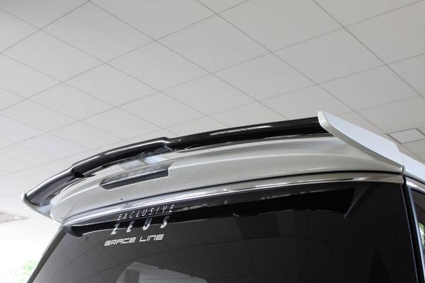 リアウイング / リアスポイラー【エクスクルージブ ゼウス】GRACE LINE リアウイング 2色塗り分け塗装済 エルグランド E52 ハイウェイスター 後期 2014/4-