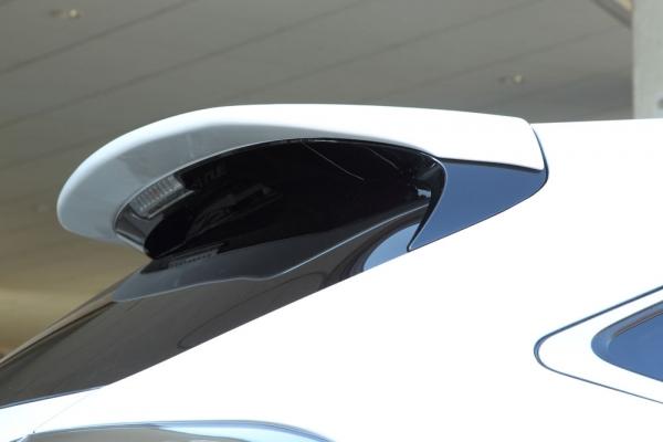 リアウイング / リアスポイラー【エクスクルージブ ゼウス】レクサス 【 LUV LINE 】 リアウイング 未塗装 | LEXUS RX RX450h(GYL1#W)/RX350 (GGL1#W) RX270 (AGL10W) (F SPORT、エアロバンパー付車) MC後 2012/4 - 2015/9