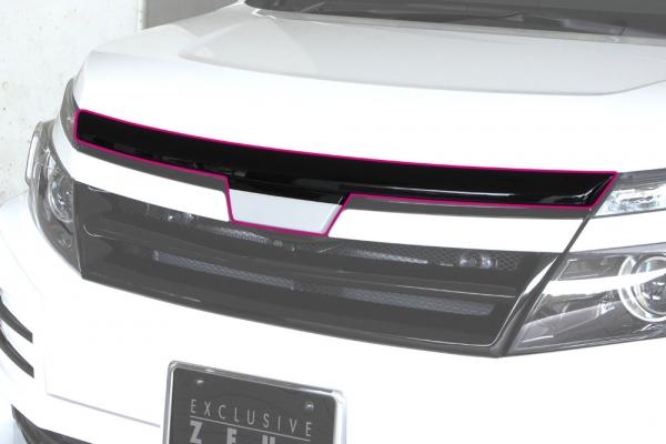 ボンネットリップ / フードトップモール【エクスクルージブ ゼウス】GRACE LINE フードトップモール 未塗装品 ヴォクシー ZRR80GHYBRIDZWR80G V / X / X C packageHYBRID V / X 2014/1 -