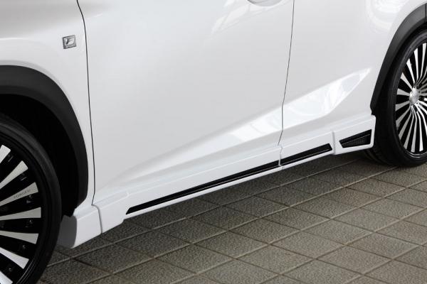サイドステップ【エクスクルージブ ゼウス】レクサス 【 LUV LINE 】 サイドステップ 2色塗り分け済み | LEXUS NX NX200t(AGZ1#) NX300h (AYZ1#) 2014/7 -