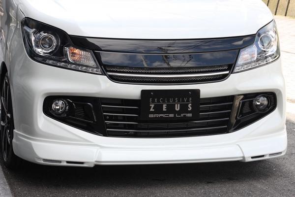 フロントハーフ【エクスクルージブ ゼウス】ソリオ バンディット 【 GRACE LINE 】 フロントハーフスポイラー(LED付属) ZJ3塗装済 | SOLIO BANDIT(MA15S) 2012/6 - 2015/7