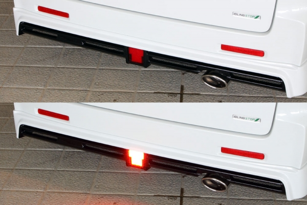 バックフォグ【エクスクルージブ ゼウス】スペーシア カスタム 【 GRACE LINE 】 LEDバックフォグランプ(C) KIT リレーハーネス付属 | SPACIA CUSTOM (MK32S) 前期 2013/6 - 2015/4