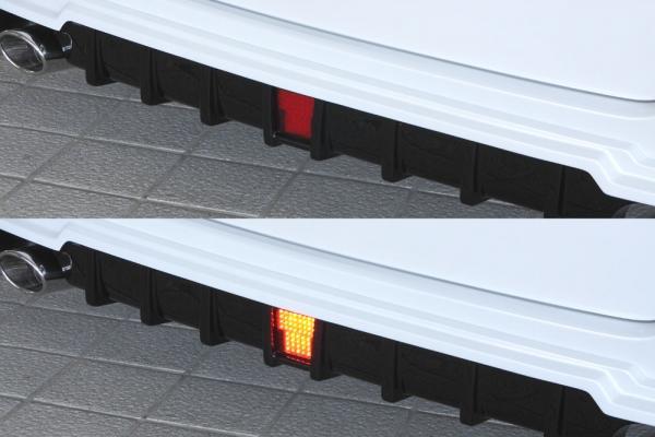 バックフォグ【エクスクルージブ ゼウス】ヴォクシー 【 GRACE LINE 】 LEDバックフォグランプ(C) KIT リレーハーネス付属 | VOXY(ZRR80G)HYBRID(ZWR80G) (V / X / X C package)(HYBRID V / X) 2014/1 -