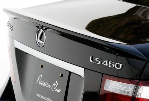 トランクスポイラー / リアリップスポイラー【エクスクルージブ ゼウス】レクサス 【 Prussian Blue 】 トランクスポイラー 未塗装品 | LEXUS LS LS600h/600hL(UVF45/46) LS460/460L (USF40/41) 前期 2006/9 - 2009/9