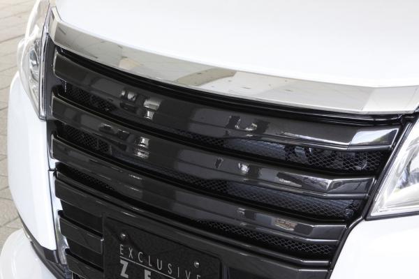フロントグリル【エクスクルージブ ゼウス】ノア 【 GRACE LINE 】 フロントグリル 未塗装品 | NOAH(ZRR80G) NOAH HYBRID(ZWR80G) (G/ X / X V package) (HYBRID G / X) 2014/1 -