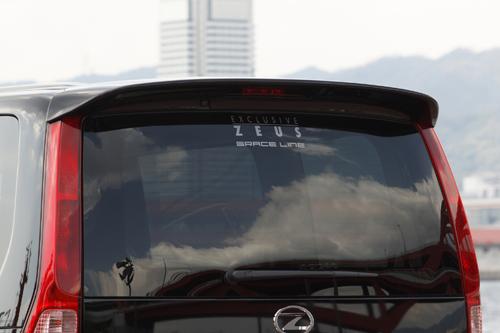 リアウイング / リアスポイラー【エクスクルージブ ゼウス】セレナ 【 GRACE LINE 】 リアウイング QX1塗装済 | SERENA (C25) 20S.20G 後期 2007/12 - 2010/10