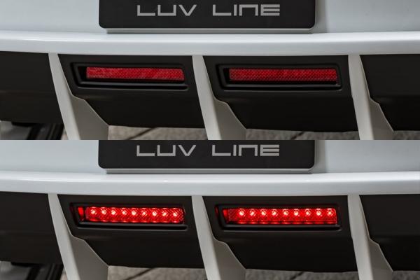 バックフォグ【エクスクルージブ ゼウス】ポルシェ マカン 【 LUV LINE 】 LEDバックフォグランプ(G) KIT | PORSCHE Macan Macan Turbo (DBA-95BCTL) 2014/4 -