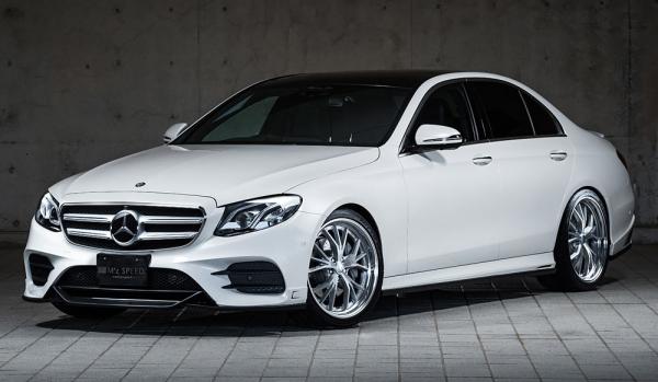 エアロ 3点キットC / ( FRハーフタイプ )【エクスクルージブ ゼウス】メルセデスベンツ 【 Prussian Blue 】 3点KIT(F,S,R) 未塗装品 | Mercedes Benz E-Class W213 E200/E220d/E250 AVANTGARDE Sports 2016/7 -