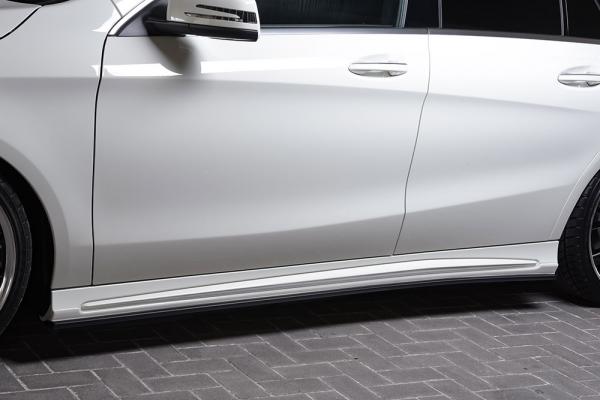 サイドステップ【エクスクルージブ ゼウス】メルセデスベンツ 【 Prussian Blue 】 サイドステップ 未塗装品 | Mercedes Benz CLA-Class Shooting Brake X117 CLA180 Shooting Brake Sports 2016/8 -