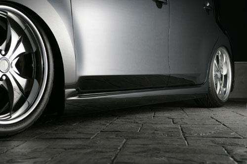 サイドステップ【エクスクルージブ ゼウス】ビービー 【 SMART LINE 】 サイドステップ X07 塗装済 | bB 1.5Z/1.3S 前期 2005/12 - 2008/10