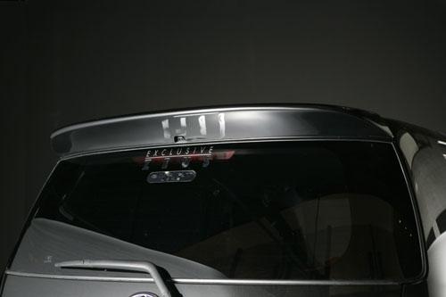 リアウイング / リアスポイラー【エクスクルージブ ゼウス】ビービー 【 SMART LINE 】 リアウイング X07 塗装済 | bB 1.5Z/1.3S 前期 2005/12 - 2008/10