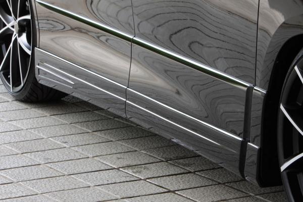 サイドステップ【エクスクルージブ ゼウス】アルファード 【 GRACE LINE 】 サイドステップ 未塗装品 | ALPHARD (GGH/ANH/ATH) S grade/HYBRID SR 後期 2011/11 - 2014/12